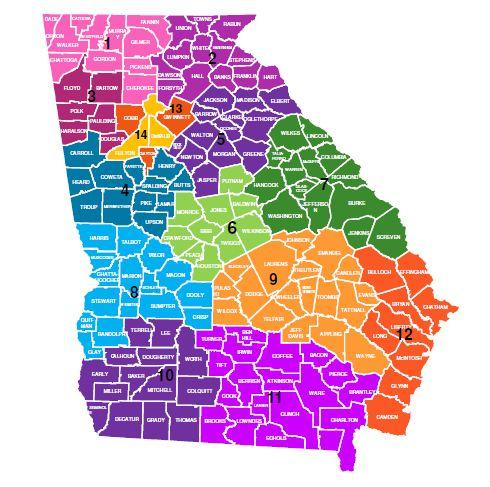 region-map