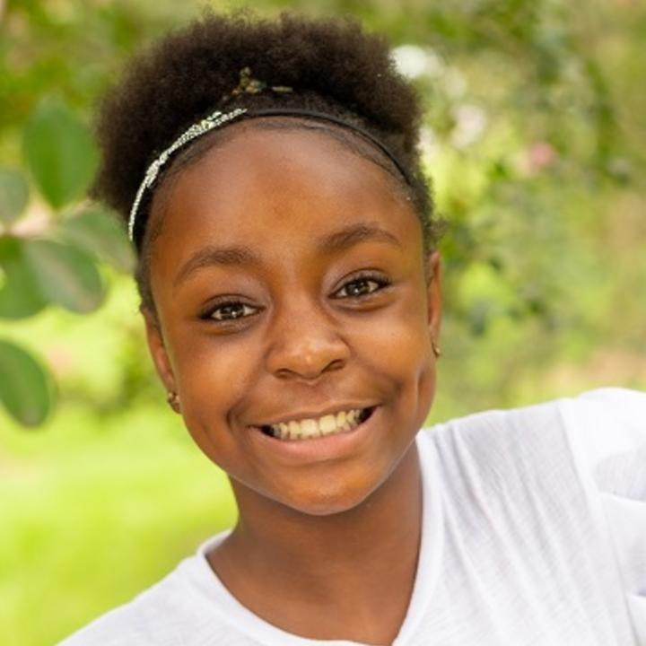Shardavia, born in 2008, is a respectful, happy and bubbly African American girl
